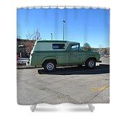 Antique Panel Van Shower Curtain