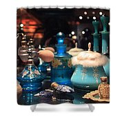 Antique Perfume Bottles Shower Curtain