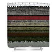 Antique Perimetral Wall Shower Curtain