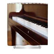 Antique Piano Shower Curtain
