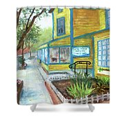 Antique Row In Kensington Md Shower Curtain