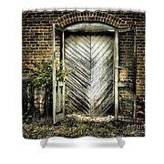 Antique Store Door Shower Curtain