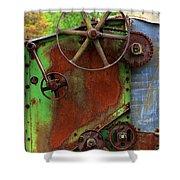 Antique Thrasher Shower Curtain