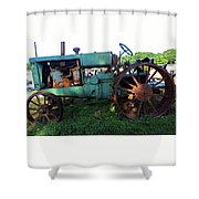 Antique Tractor 1 Shower Curtain