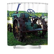 Antique Tractor 2 Shower Curtain
