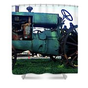 Antique Tractor 7 Shower Curtain