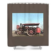 Antique Tractor - Rollag, Minnesota Shower Curtain