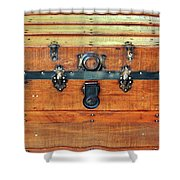 Antique Trunk Shower Curtain