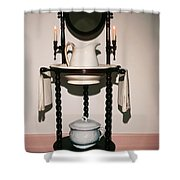 Antique Wash Stand Shower Curtain