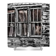Antique Windows Shower Curtain