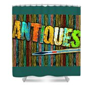 Antiques Shower Curtain