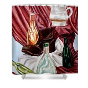 Antiques Velore Shower Curtain