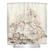 Antiquities Of Dacca Shower Curtain