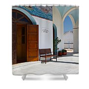antirrio church 'I Shower Curtain