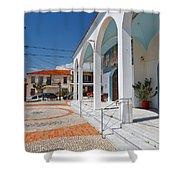 antirrio church 'III Shower Curtain