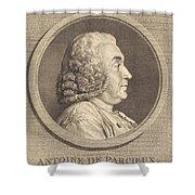 Antoine De Parcieux Shower Curtain
