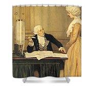 Antoine-laurent Lavoisier Shower Curtain