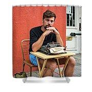 Antoine Shower Curtain by Steve Harrington