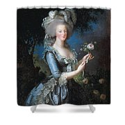 Antoinette With The Rose Marie Shower Curtain