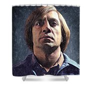 Anton Chigurh Shower Curtain