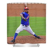 Antonio Bastardo New York Mets Shower Curtain