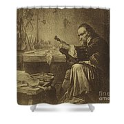 Antonio Stradivari Shower Curtain