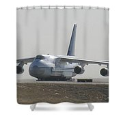 Antonov An 124 Cargolifter Plane Aircraft Shower Curtain