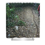Ants Highway Shower Curtain