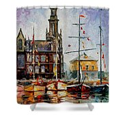 Antwerp - Belgium Shower Curtain