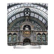 Antwerp Train Shower Curtain