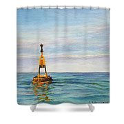 Anvers A Chausey Shower Curtain