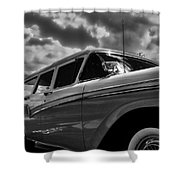 Any Ford In A Storm Shower Curtain