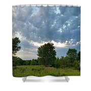Any Shelter In A Storm Shower Curtain
