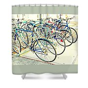 Anyone For A Ride? Shower Curtain