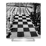 Anyone For Chess Shower Curtain