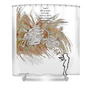 Anyone Who Encourage Growth Shower Curtain