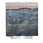Anza Borrego Shower Curtain
