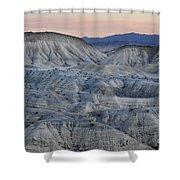 Anza-borrego Landscape Shower Curtain