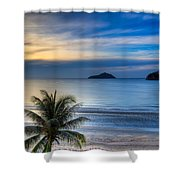 Ao Manao Bay Shower Curtain by Adrian Evans