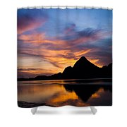 Ao Manao Sunrise Shower Curtain