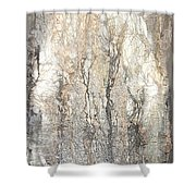 Aokigahara Forest Shower Curtain