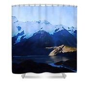 Aoraki/mount Cook Shower Curtain