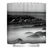 Another Dimension  Shower Curtain