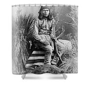 Apache Leader, 1885 Shower Curtain