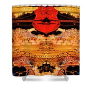 Apache Picture Jasper Shower Curtain