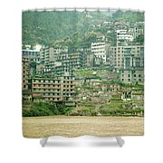 Apartments, China Shower Curtain