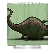 Apatosaurus  Shower Curtain