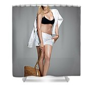 Apexatropin Shower Curtain