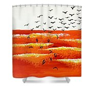 Apocalyptic Shower Curtain