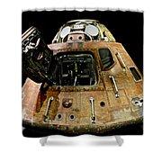 Apollo 11 Lunar Lander Shower Curtain